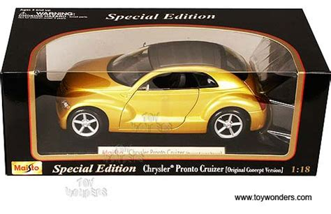 Chrysler Pronto Cruiserscale 132 chrysler pronto cruizer concept top by maisto 1 18 scale diecast model car wholesale 31870yl