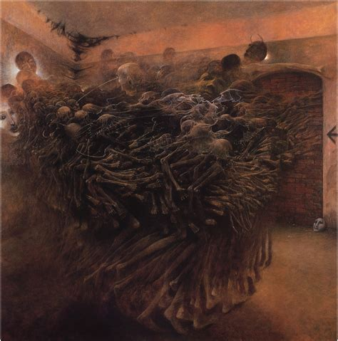 untitled painting untitled zdzisław beksiński biblioklept