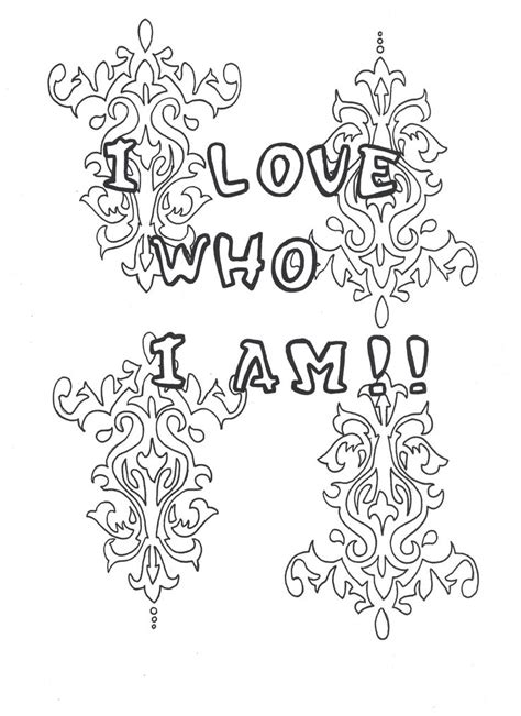 self love coloring pages 38 best self love coloring pages images on pinterest