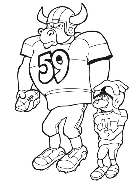 football coach coloring page football coloring picture bull and dog football players