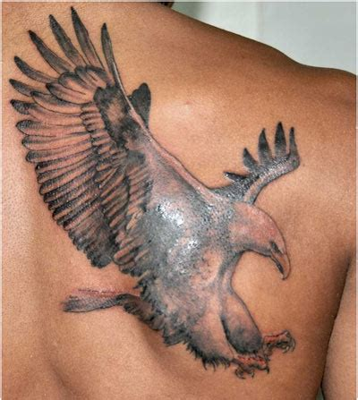 flying eagle tattoo designs grey ink flying eagle