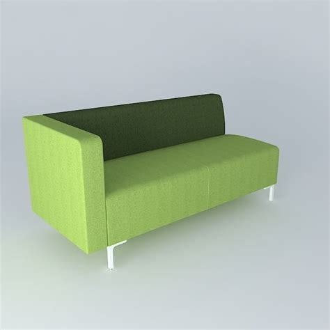 Modern Green Sofa Free 3d Model Max Obj 3ds Fbx Stl Green Modern Sofa
