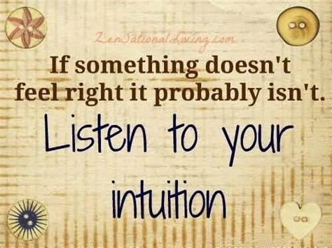 Probably Isnt by 61 Most Beautiful Intuition Quotes And Sayings