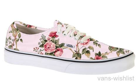 vans flower pattern shoes spectre tagged as pink pink flowers floral floral