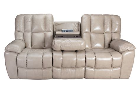 Toronto Gliding Reclining Sofa With Drop Down Table At Reclining Sofa With Table