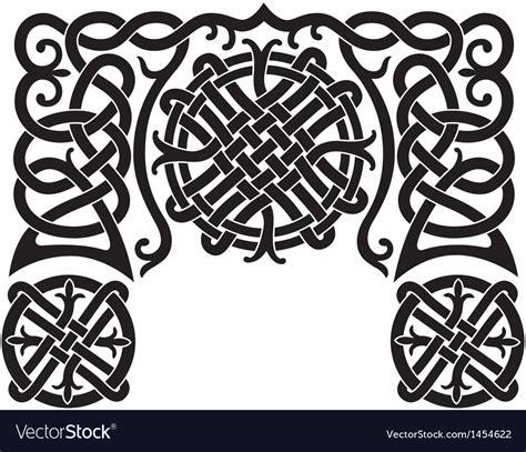 viking pattern vector nordic pattern royalty free vector image vectorstock