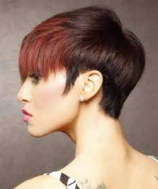 hair co or for two toned pixie two tone hair color for short hair short hairstyles 2016