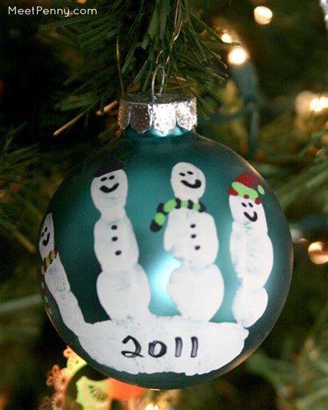 homemade christmas ornaments   christmas tree meet penny