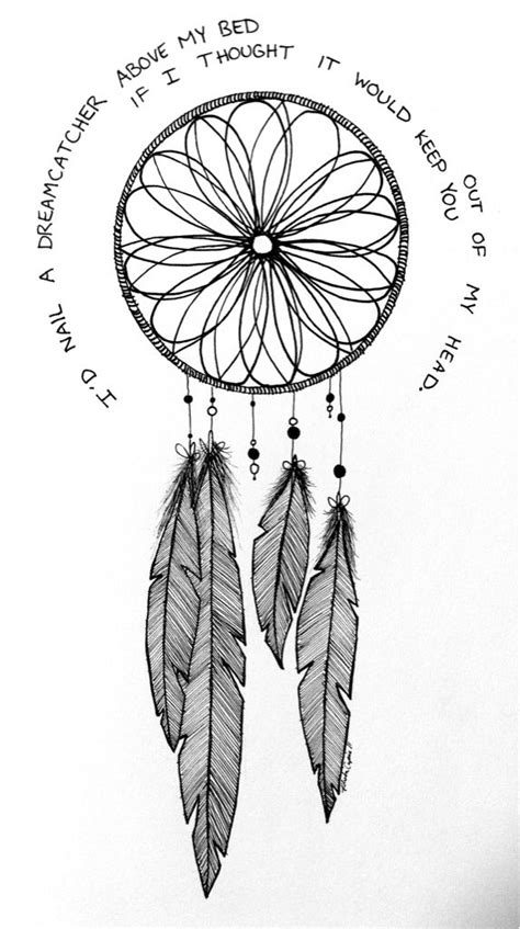 dream catcher tattoo quotes tumblr dreamcatcher drawing painting pinterest hexagons