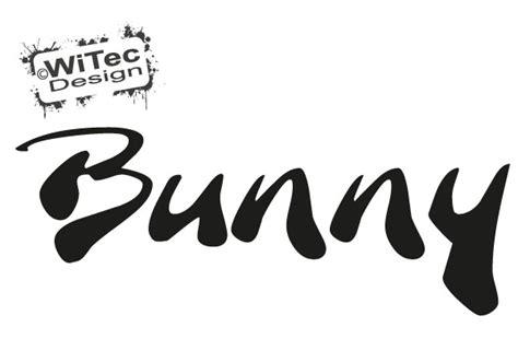Aufkleber Auf Der Heckscheibe by Bunny Autoaufkleber Schriftzug Auto Aufkleber Heckscheibe
