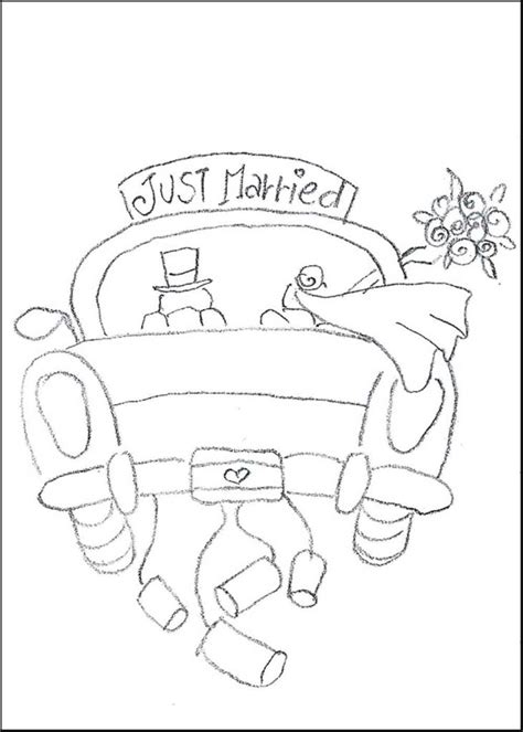 printable wedding coloring book pages coloring pages free coloring pages of wedding car wedding