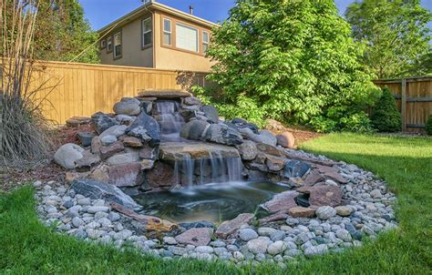 rock water features for the garden 53 backyard garden waterfalls pictures of designs