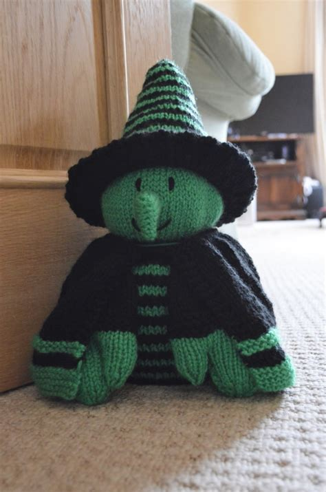 Witch Doorstop Knitting Pattern Knitting By Post
