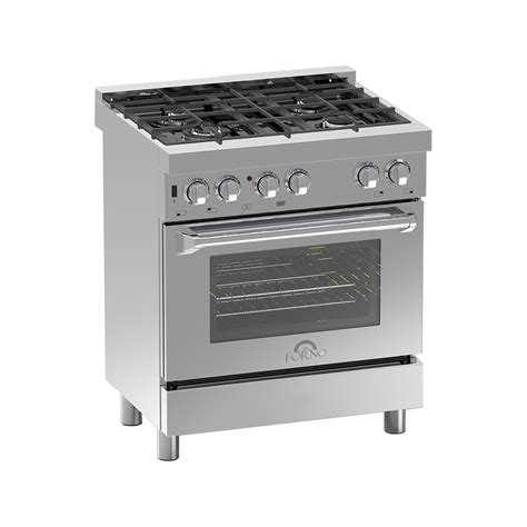Oven Gas Aluminium 30 professional freestanding stainless steel 430 dual