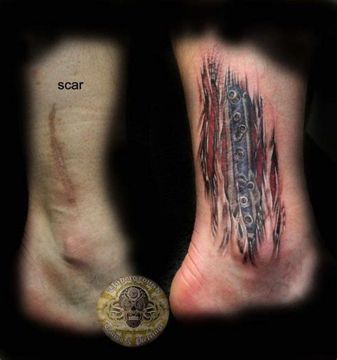 tattoo over knee surgery scar exle of what i want to cover my knee surgery scars