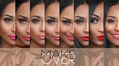 Produk Make Up Makeover makeover matte lip swatches honest review
