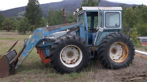 Ford County by Ford County 4x4 Tractor Loader Hinkler Cab Runs