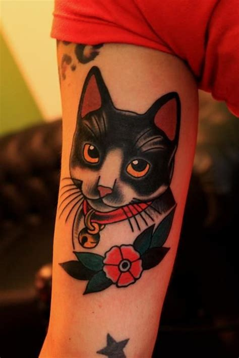 cartoon kitten tattoo 89 best cat tattoo images on pinterest kitty tattoos