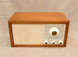 Small Desk Radio Klh Model Twenty One 21 Fm Radio 1965