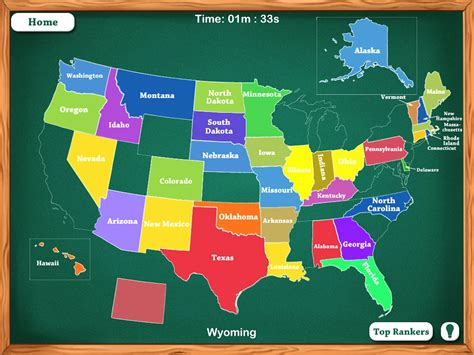 united states puzzle map app united states map app world maps
