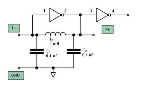 cmos layout elements oscillator with cmos inverter calculate elements