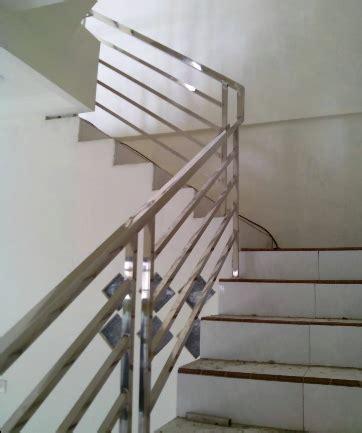 Asbak Stanliess Minimalis jual railing tangga minimalis 2 harga murah jakarta oleh sinar jaya stainless