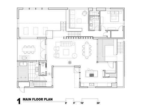 floor plan main is 6900sq gallery of artist residence heliotrope architects 18