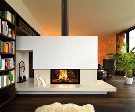 Double Sided wood fireplace by Spartherm ? Selector
