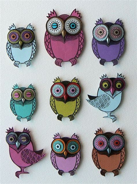 Paper Owls - 25 best ideas about paper owls on met