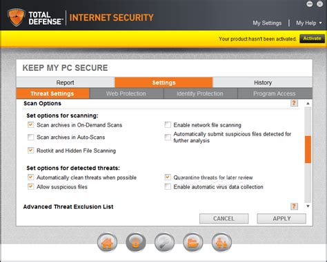 Total Defense Internet Security Suite Download
