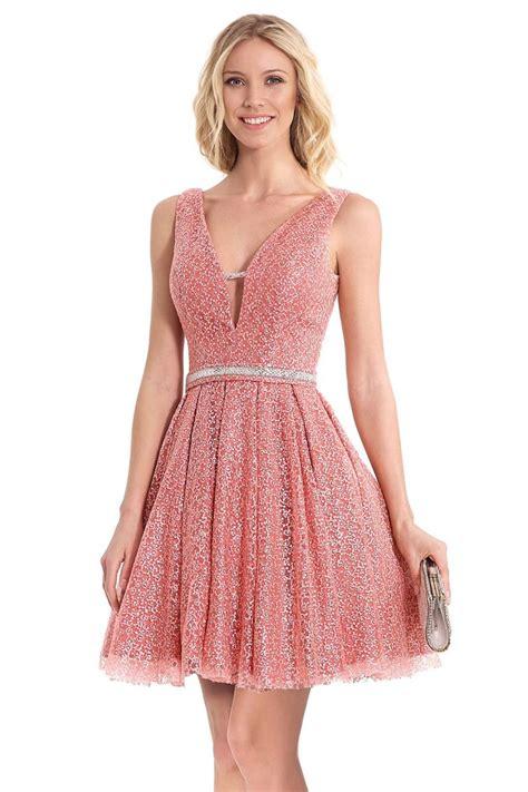 vestido de encaje corto vestido susanna rivieri corto encaje rosa