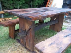 mesas rusticas para jardin o barbacoa 28 000 00 en