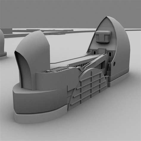 thames barrier animation thames barrier 3d model
