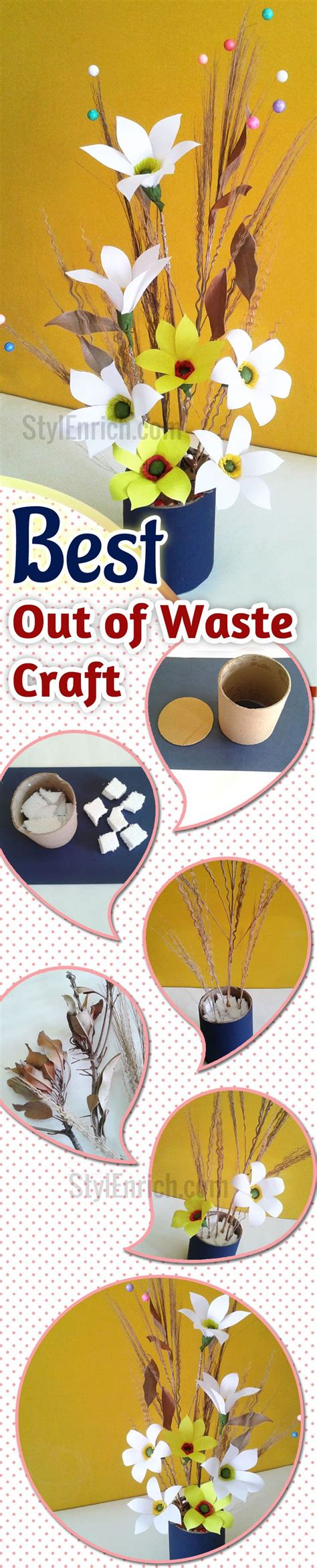 How To Make Things With Waste Paper - 49 best images about best out of waste on