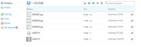 dropbox ocr processing large files using dropbox