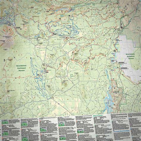 the oregon trail map central oregon adventure maps bundle 187 bend trails gear