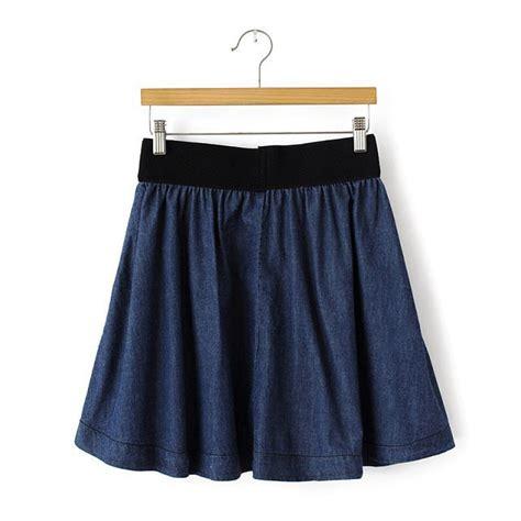 fashion skirt s elastic waist denim skirt w1513 in