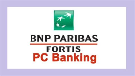 pin bnp paribas fortis pc banking aanmelden on