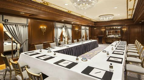 meeting rooms nyc event venues nyc business hotel the st regis new york