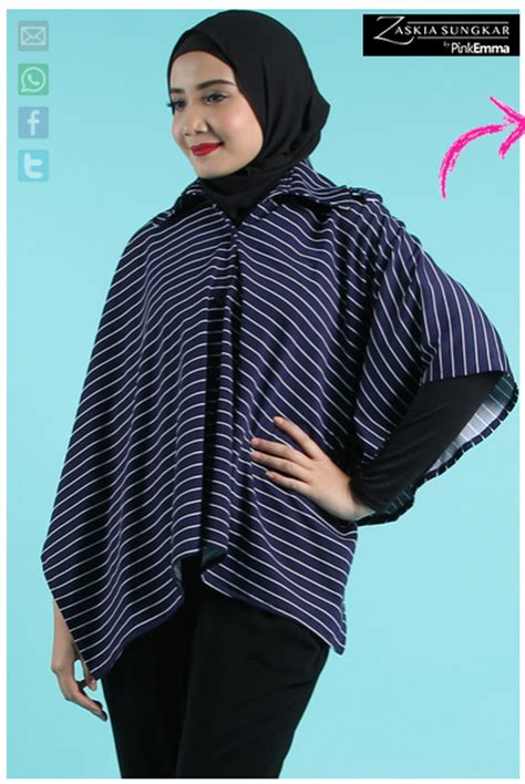 gambar desain zaskia sungkar contoh foto baju muslim modern terbaru 2016 desain model