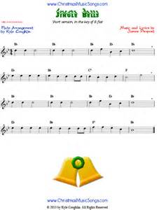 O Christmas Tree Lyrics For Kids - jingle bells easy version free sheet music for flute