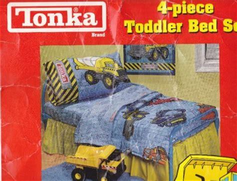 tonka toddler bed tonka tough 4 piece toddler bedding ebay