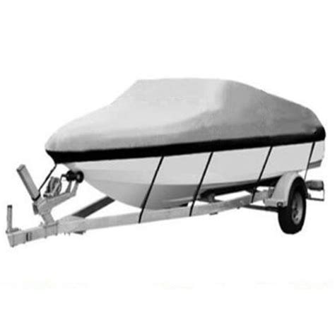 17 19 Ft Waterproof Heavy Duty Fabric Trailerable Pontoon Boat Cover 210d Boat Cover Templates