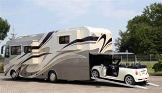 Motorhome With Garage by New Vario Motorhome Features Built In A Garage For Your