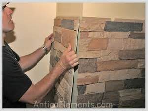 Make Your Own Wainscoting Great Tips On Installing Faux Stone Panels