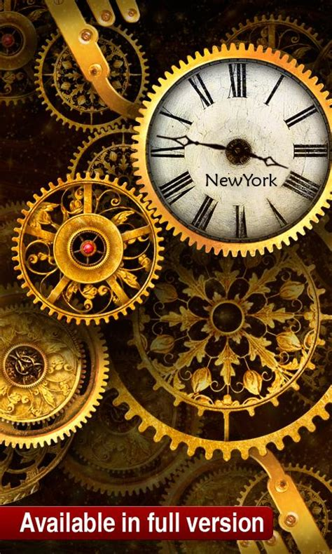 Clock Live Wallpaper Android