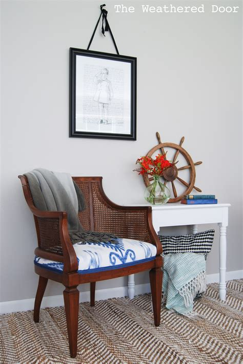 chagne jeep wrangler blue ikat fabric chair floors doors interior design