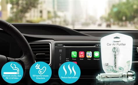 car air purifier ionizer car air freshener ionic air purifier air cleaner