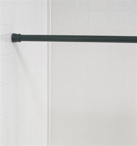 extra long shower curtain rod tension shower curtain tension rod aquatico milano shower curtain
