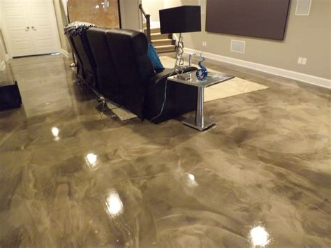 Basement Flooring Options Epoxy Finish Epoxy Flooring Pcc Cleaning Concrete Basement Floors